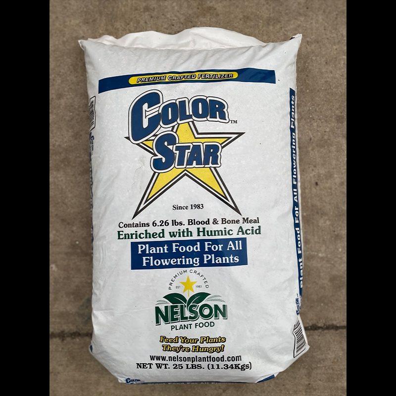 Color star plant food 25lb