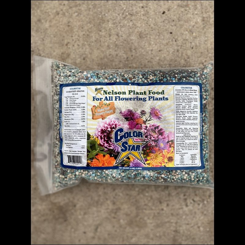 Nelson plant food 4lb