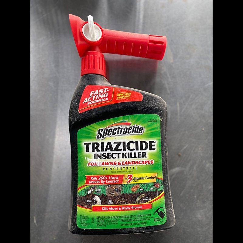 Triazicide insenct killer spray concentrate